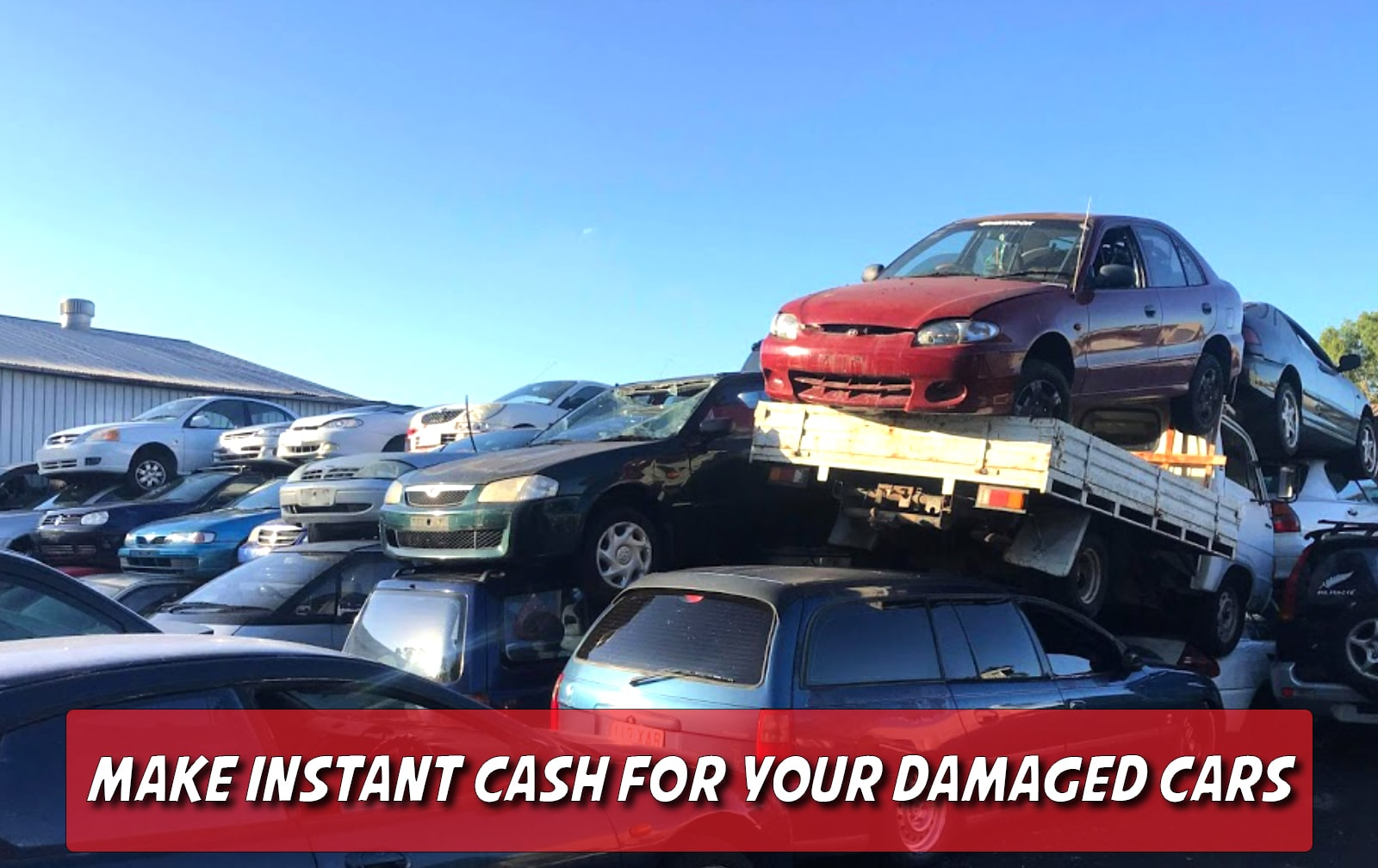 How to make instant cash for your damaged cars